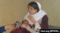 اسماء یکی از قربانیان خشونت علیه زنان در ولایت غور