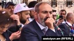 Ermenistanyň oppozision lideri Nikol Paşiniýan