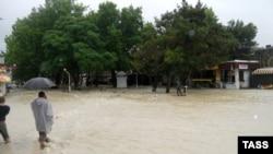 Наводнение, иллюстрационное фото