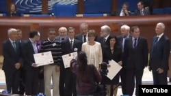 Fransa,Starsburq-Havel mükafatının təqdimatı,2014-cü il