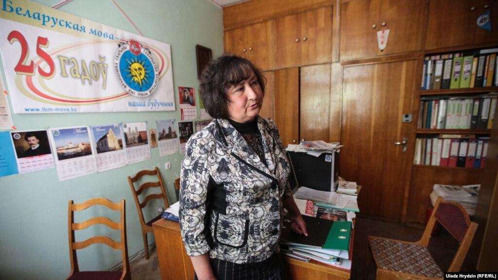 Старшыня Таварыства беларускай мовы Алена Анісім