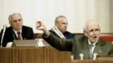 Общественный деятель и правозащитник академик Андрей Сахаров выступает на Первом съезде народных депутатов СССР (июнь 1989 года). Фото из досье ИТАР-ТАСС