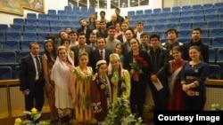 Таджикские студенты вузов Москвы