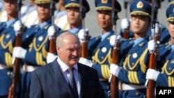 Александр Лукашенко в Китае