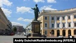 Символ Олеси та її європейського вибору – пам'ятник засновнику міста Дюку Де Рішельє