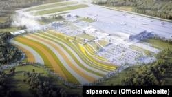 Проект реконструкції привокзальної площі нового терміналу аеропорту «Сімферополь»