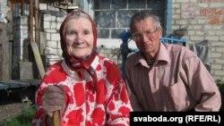 Антаніна Леўчанка з сынам Анатолем