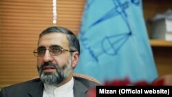 File photo - Gholamhossein Esmaeili, spokesman of Iran's Judiciary.