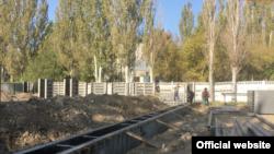 Строительство детского сада в Керчи. Архивное фото