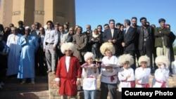 Türkmensähradaky türkmenler. Eýran.