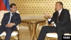 Իլհամ Ալիեւի եւ Դմիտրի Մեդվեդեւի հանդիպումը Բաքվում, 29 հունիսի, 2009