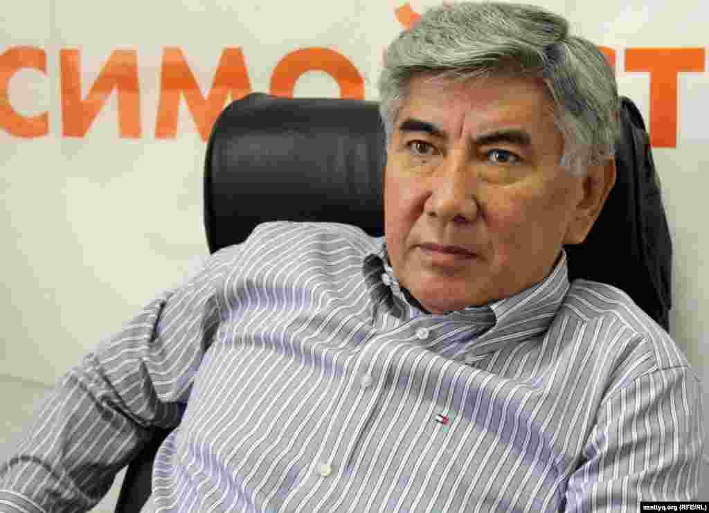 Жармахан Тұяқбай, ЖСДП төрағасы. Алматы, 8 қыркүйек 2011 жыл.