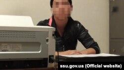Видана з Молдови підозрювана, фото СБУ