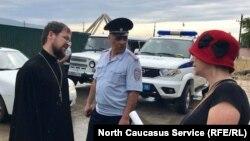 Представители РПЦ разговаривать с Анохиной не пожелали