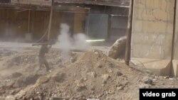 Кадры битвы за Мосул
