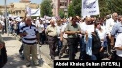 تظاهرة لمسيحيين في دهوك