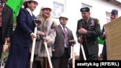 Шопоков шаарындагы кризистик борбордун ачылышы. 11-март. 2010
