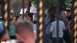 Բողոքի ակցիա Երևանում ի պաշտպանություն Ռուսաստանում ձերբակալված իրավապաշտպանների