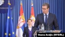 Aleksandar Vučić i Ana Brnabić