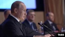 Володимир Путін на колегії ФСБ Росії, 26 березня 2015 року