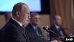 Путин выступает на коллегии ФСБ 26 марта 2015 года