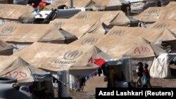 Лагерь для сирийских беженцев в Ираке. 26 августа 2013 года.