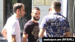 Բռնցքամարտիկները բողոքում են սպորտի նախարարի հայտարարության դեմ, Երևան, 22-ը օգոստոսի, 2018 թ․