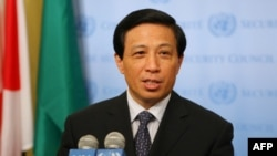 China's Ambassador to the United Nations Zhang Yesui (file photo)
