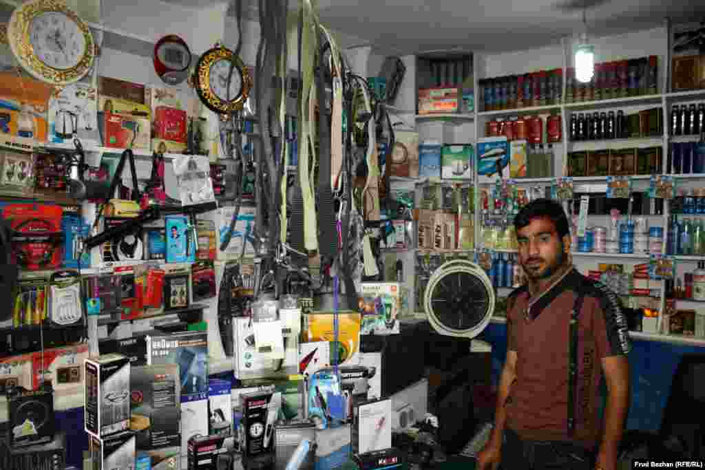 This shop owner has refitted electronics dumped outside American military bases.