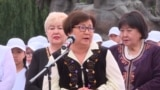 Kyrgyzstan - Former Kyrgyz President Roza Otunbaeva spoke out against bride kidnapping - screen grab