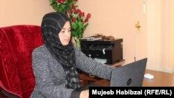 نبیلا حبیبی، رئیس امور زنان ولایت سرپل