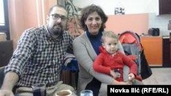 Alberto De Oliva sa porodicom