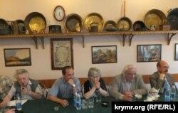 Александр Лавут на форуме правозащитников в Крыму, 2012 год