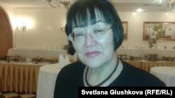 «Аман-саулық» үкіметтік емес ұйымының төрайымы Бақыт Түменова. Астана, 19 желтоқсан 2012 жыл.