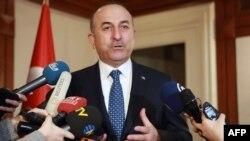 Ministri i Jashtëm turk, Mevlut Cavusoglu.