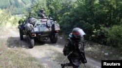 Припадници на КФОР на северот од Косово