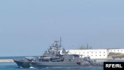 Російський військовий корабель «Ладний» у Севастопольській бухті