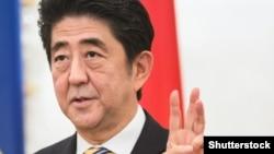 Ýaponiýanyň premýer-ministri Shinzo Abe