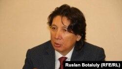 Жаксылык Жаримбетов, бывший первый заместитель председателя правления БТА Банка, после экстрадиции из Турции в Казахстан и освобождения под подписку о невыезде. Астана. 30 марта 2017 года.