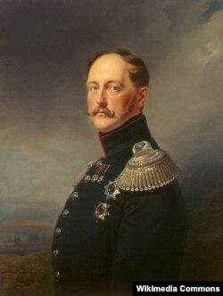 Портрет императора Николая I. Художник Франц Крюгер. 1852