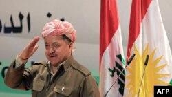 Лидер Курдского автономного района Ирака Масуд Барзани. 14 марта 2013 года.