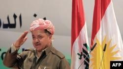 رئيس اقليم كردستان مسعود برزاني