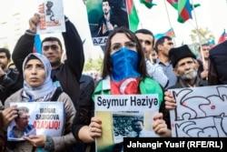 Митинг оппозиции в Баку. 12 октября 2014 года