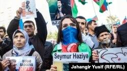 Бакудагы оппозиция митинги