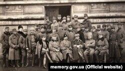 Старшини II-го корпусу Української Галицької армії. Стрий, 1919 рік (ілюстраційне зображення)