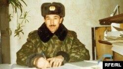 Равиль Мингазовнинг аскарликда тушган сурати.
