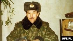 Tatarstan - Guantanamo detainee Ravil Mingazov during his millitary service in army, undated