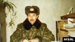 Guantanamo detainee Ravil Mingazov, who is from Tatarstan, in an undated photo from his period of millitary service in the Russian army