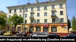 Тот самый магазин «Коммунарка» в Минске, архивное фото