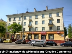 The Komunarka café in Minsk where the alleged incident took place. (file photo)